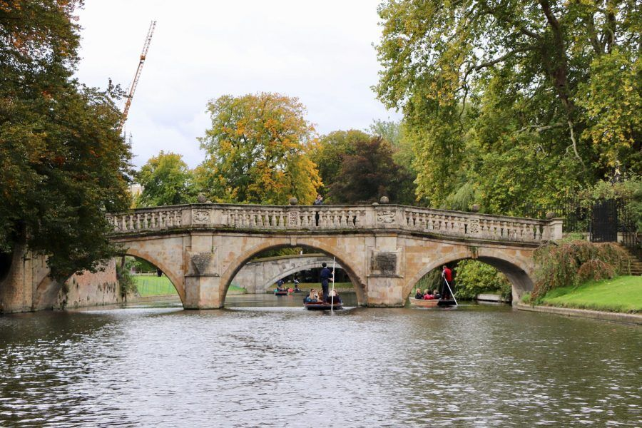Clare Bridge, Cambridge University, Cambridge, Punting Cambridge, Punting in Cambridge