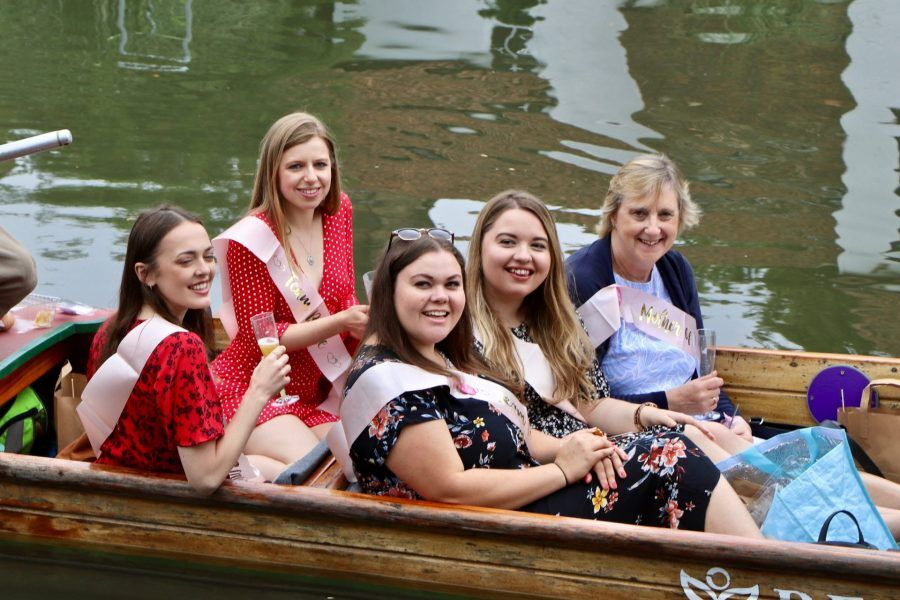 Hen Party Punting Cambridge, Celebrations, Wedding, Cambridge, Punting in Cambridge, Private Punt Tour