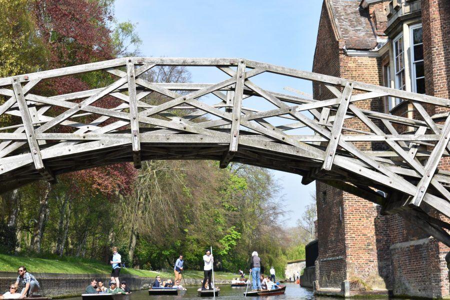 Queens College, Mathematical Bridge, Cambridge, Punting Cambridge, Cambridge University