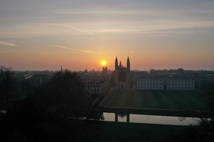 sunset, kings, cambridge university, things to do in cambridge, weekend getaway, punting